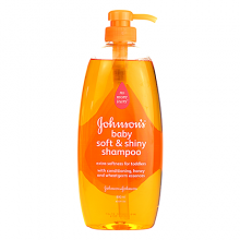 JOHNSON'S® baby soft & shiny shampoo