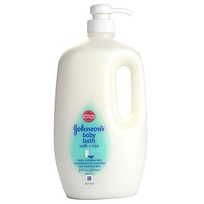 JOHNSON'S® baby bath milk + rice