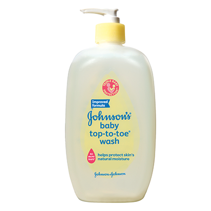 JOHNSON'S® baby TOP-TO-TOE™ wash