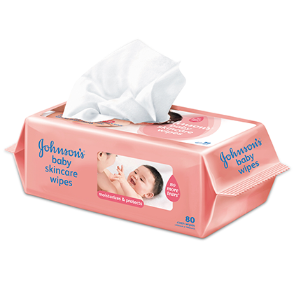 JOHNSON'S® Skincare wipes
