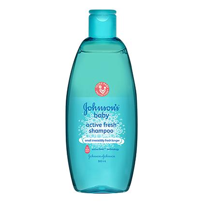 JOHNSON'S® baby active fresh™ shampoo